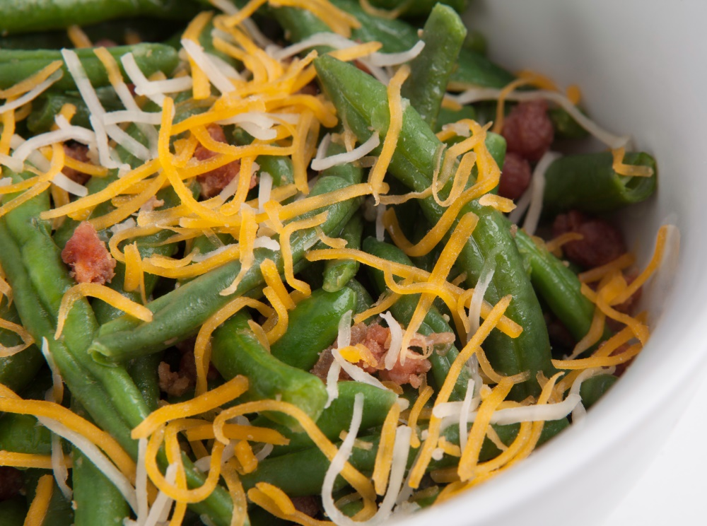 Smothered Green Beans | Personal Trainer Food