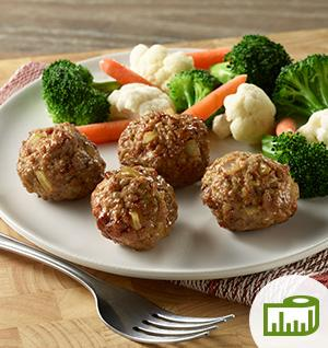 Meatballs with Onions