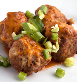 Stout Cheddar Meatball